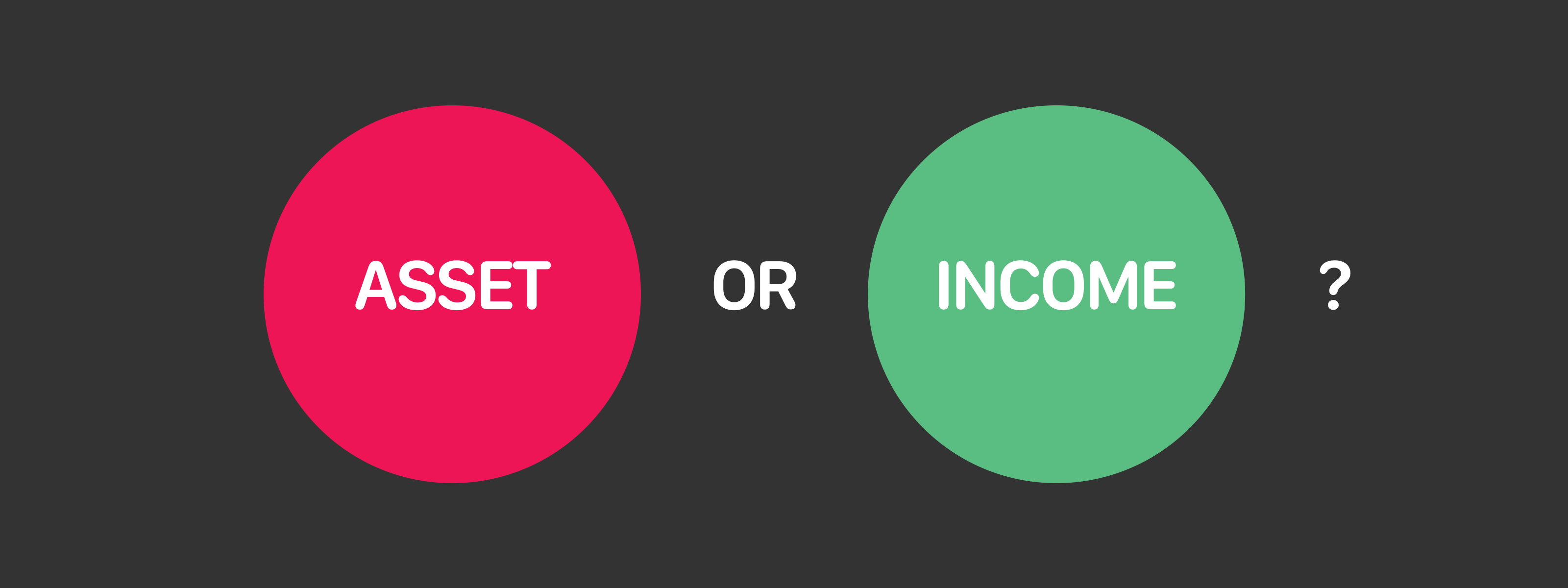 Asset or Income?